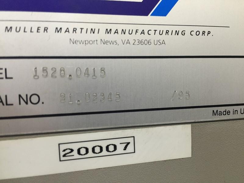 Müller Martini 335-5+ 2 cover station