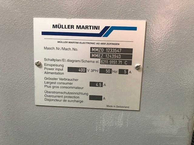 Müller Martini Forte Stacker
