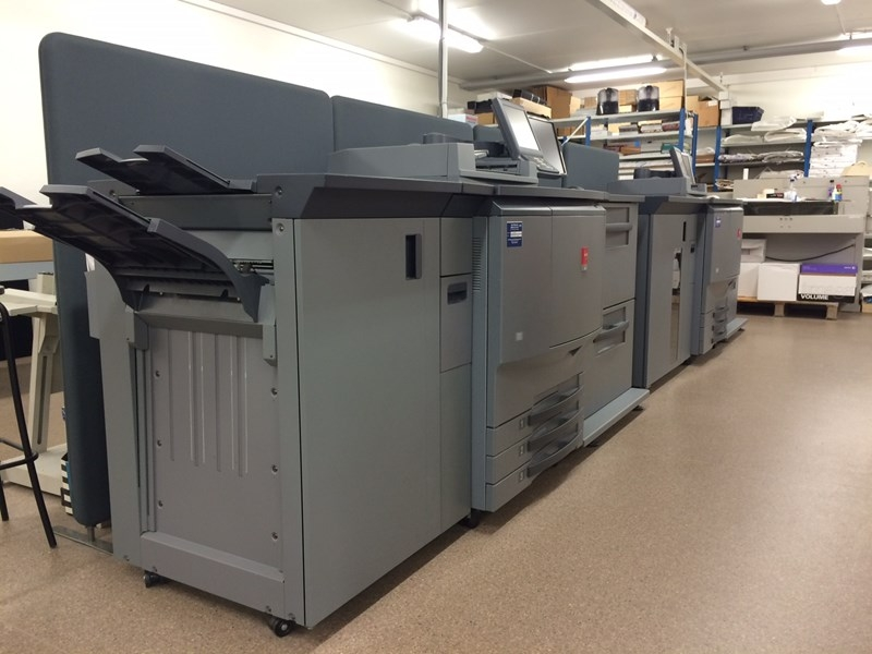 Océ CS 650 / Multi folding unit + Booklet maker
