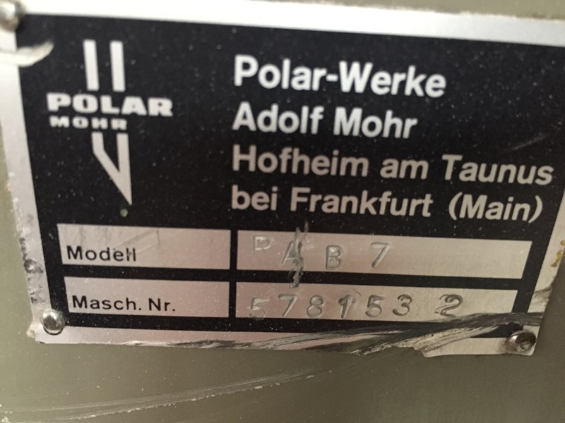 Polar Transomat Downstakker 185/6