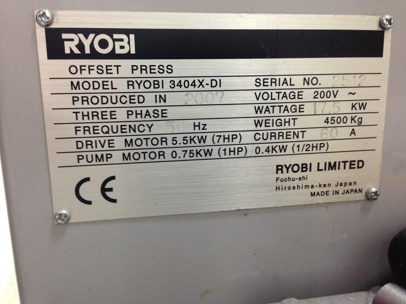 Ryobi 3404X-DI