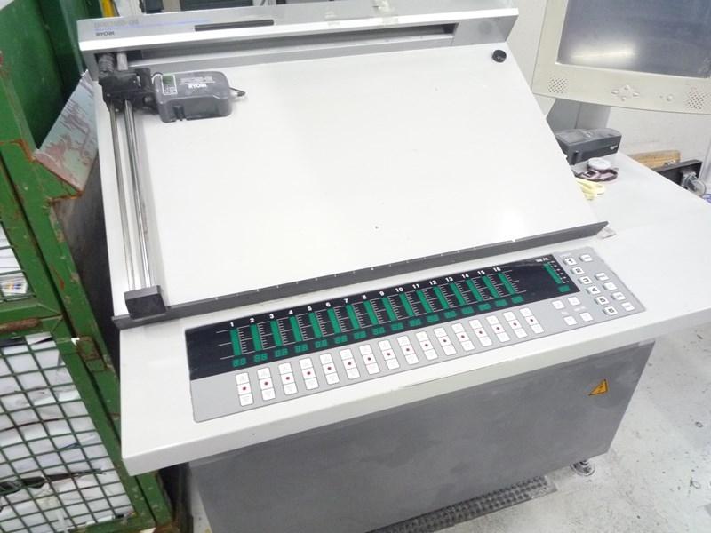 Ryobi 525 GX + coater and UV