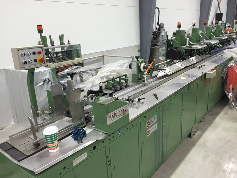 Sitma C80-750 colating & Packing Line with all Eqvipment !