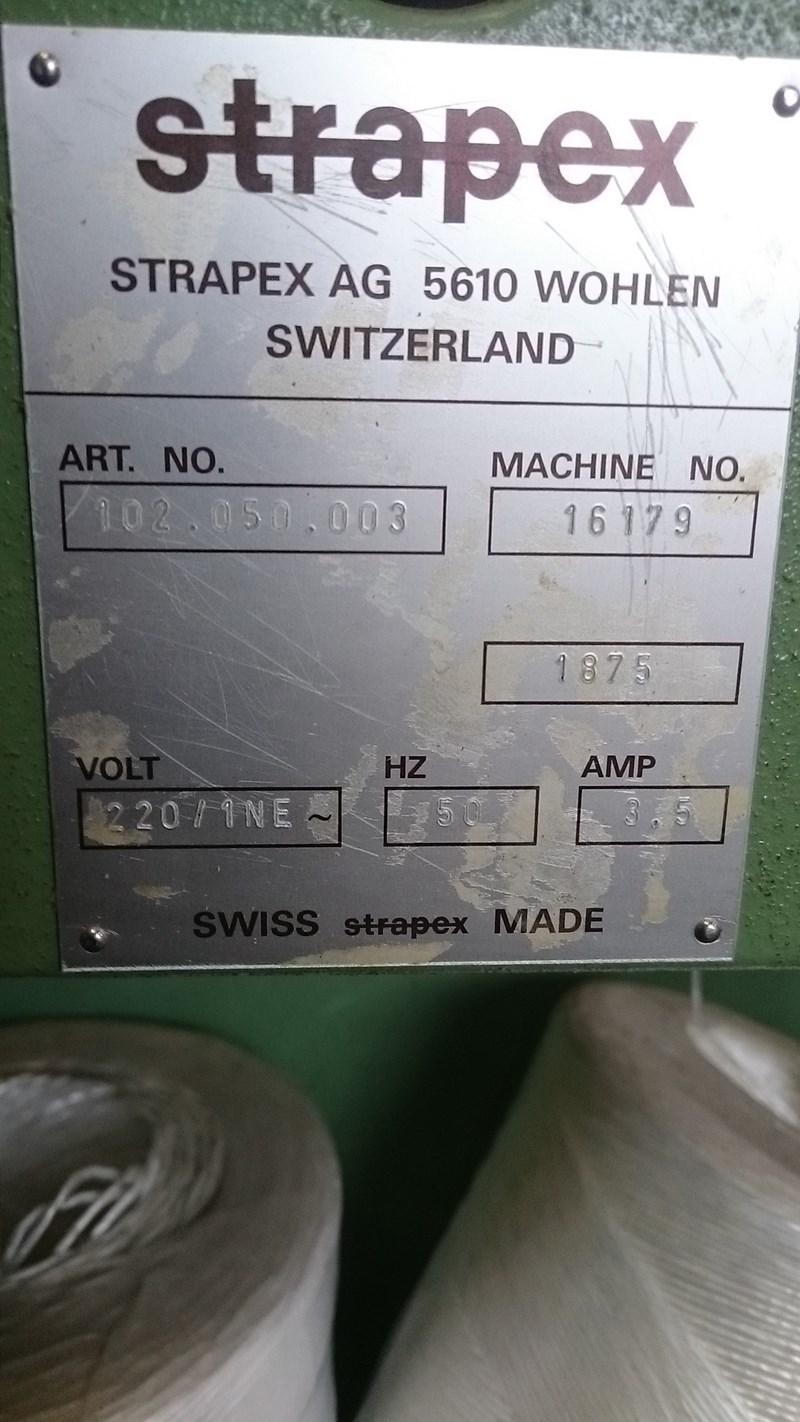 Strapex Binding machine for rope