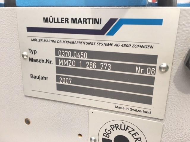 Muller Martini 370 Signature Feeders
