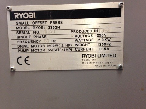 Ryobi 3300