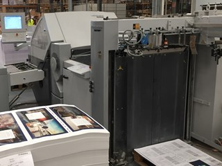 Heidelberg KH82/4KTL fully automated