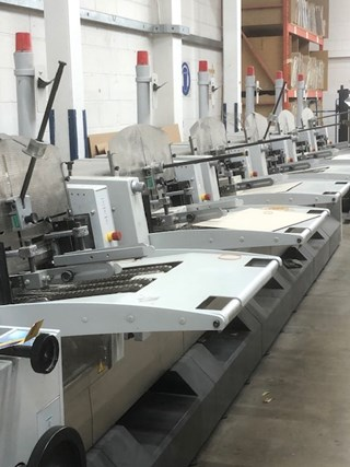 Heidelberg ST 350 saddlestitcher