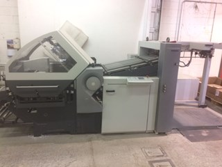 Heidelberg KH82/4KL with stacker
