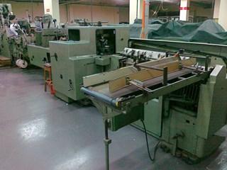 Kolbus BF40 casing in line