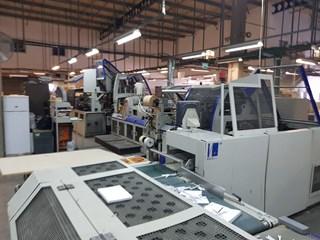 Kolbus BF511 casing in line with Sigloch bookblock production