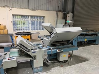 MBO B30 4/4/4 all buckle folding machine