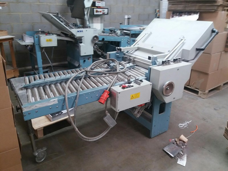 MBO B123-C all buckle folding machine