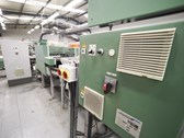 Muller Martini Mailroom incorporating a ALPHALINER inserting system