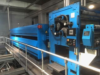 MEG TEC 7m heatset dryer
