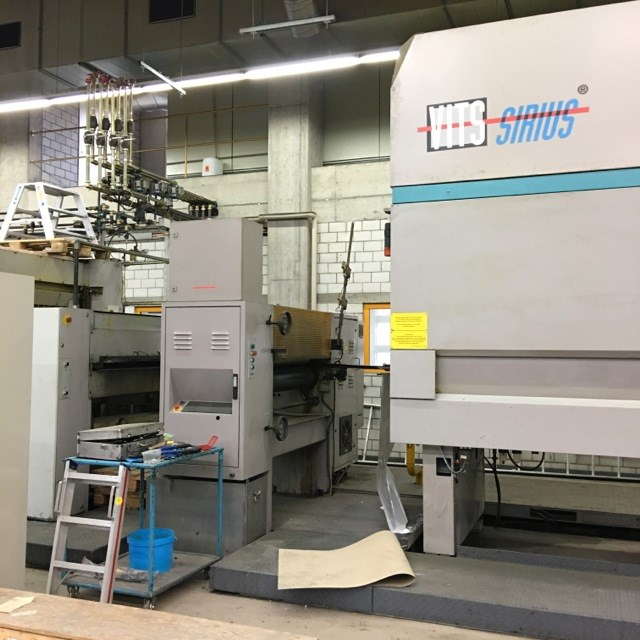 MAN-Roland  Rotoman 55, 4-colour web-offset press with a 630mm cut-off size