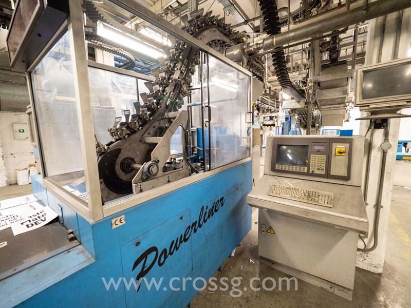 Muller Martini Powerliner  (GMA) Inserting machine