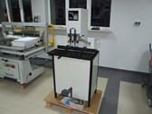 Paper drill machine Stago PB 2015 on the pedestal
