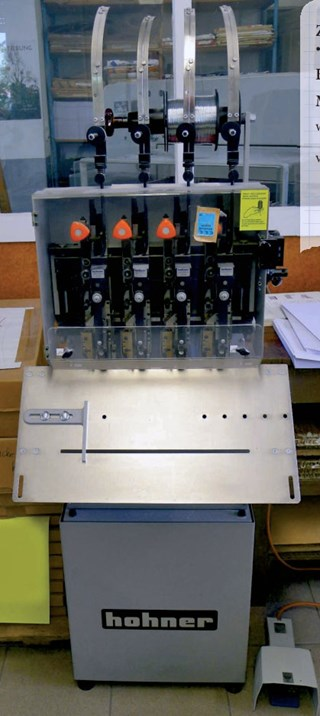 4 Head-HOHNER Exact Stitching machine