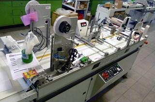 ROPI X-TEC 640 - digipack manufacturing