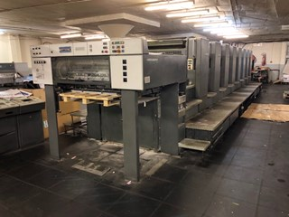 Heidelberg Eight Colour A1 Press