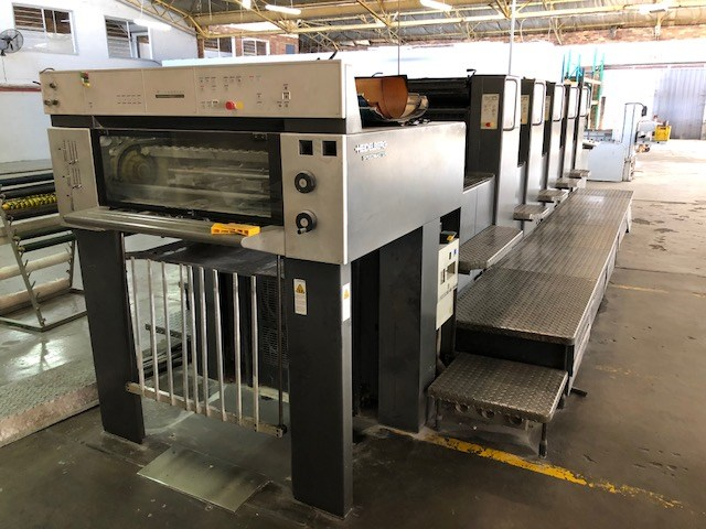 Heidelberg Five Colour A2 Press