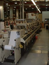Mark Andy 4200 Flexo Label Press