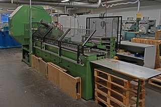 Kugler 317 Pad Making Machine