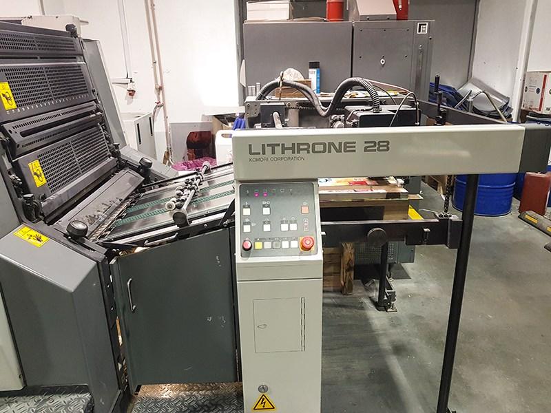 Komori Lithrone 428