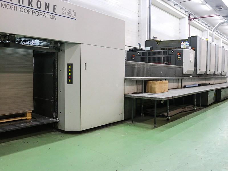 Komori Lithrone S 440 C