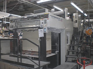 2001, Komori Lithrone L144SP