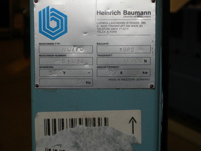 Baumann NU/FO