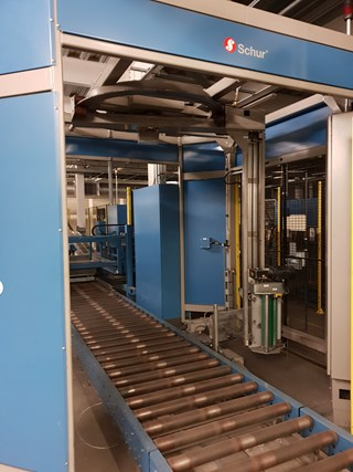 SCHUR Fully Automated Palletising Line