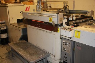 SAKURAI MAESTRO MF80 HIGH PRECISION FLAT BED SCREEN PRESS