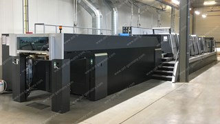 HEIDELBERG SM XL 106-6-P+LX4 - 18K!! - 2013 - LIKE NEW!