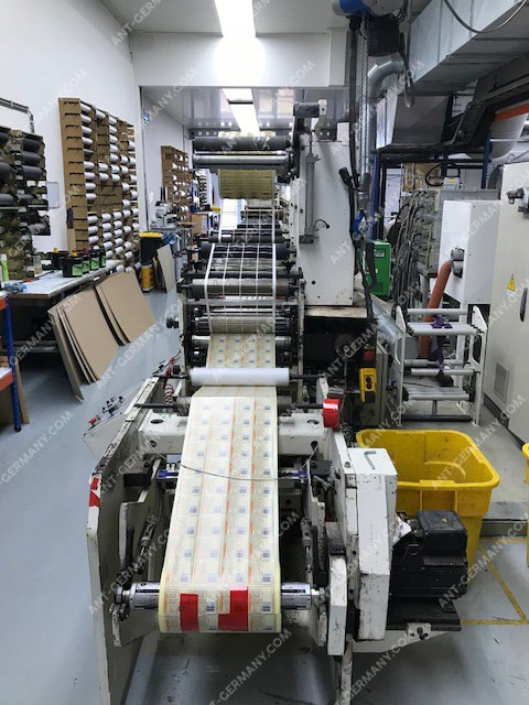TOP! OMET FX 420 Flexi, flex printing press, suitable for printing self-adhesive labels and flexible packaging