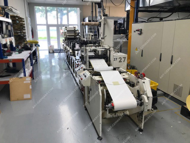 TOP! OMET FX 420 Flexi, flex printing press, suitable for printing