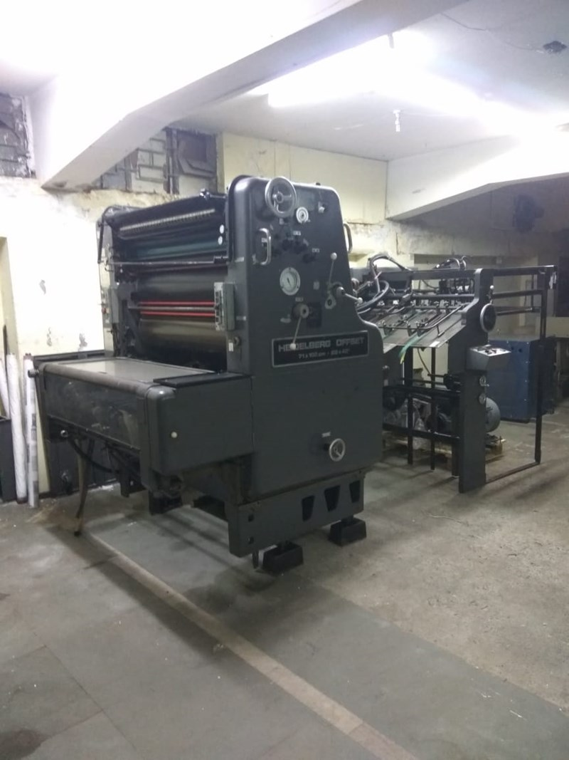 Heidelberg single color