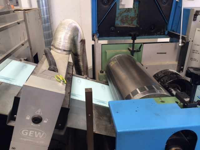 Offset Muller Martini Pronto continuous forms press