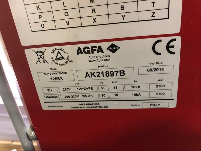 Agfa Elantrix 125 SX, Year 2014