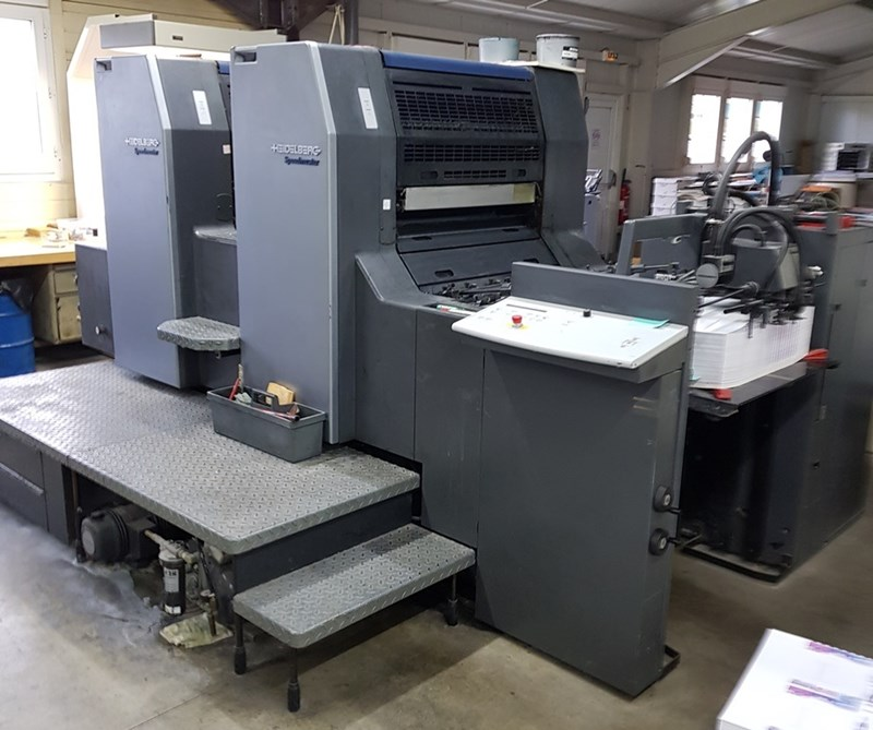 Show details for Heidelberg SM74-2H with UV