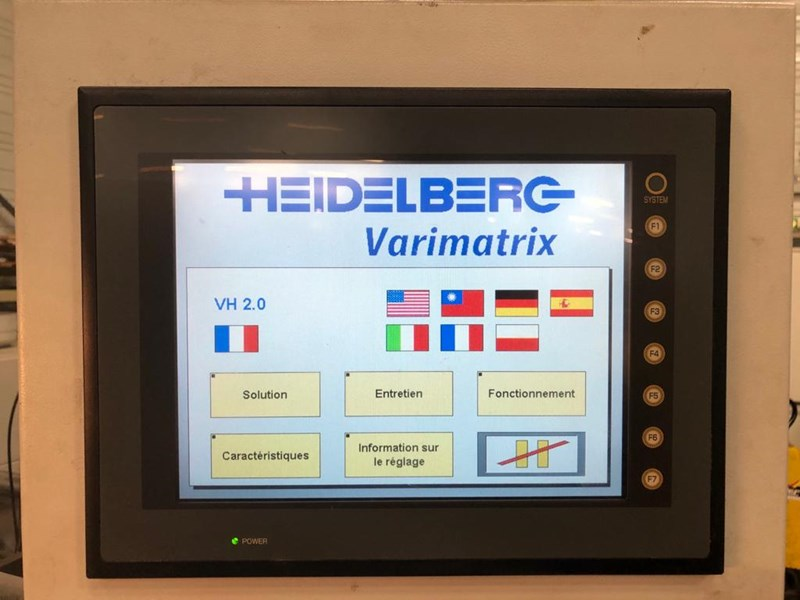 Heidelberg Varimatrix 105 CS