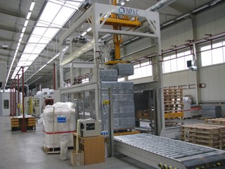 IMP.A.C. line for packaging and palletizing