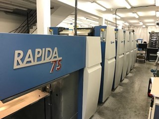KBA RAPIDA 75 5 SAPC