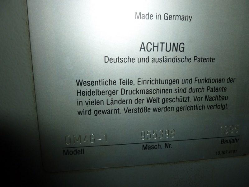 Heidelberg QUICKMASTER QM 46   1