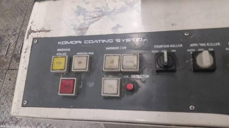 Komori LITHRONE 540 RP + L