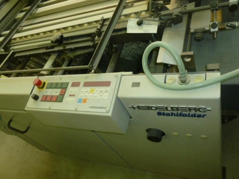 Heidelberg STAHLFOLDER Ti 52 / 4   4   KBK   Fi52.1