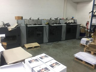 Heidelberg ST100 saddlestitcher