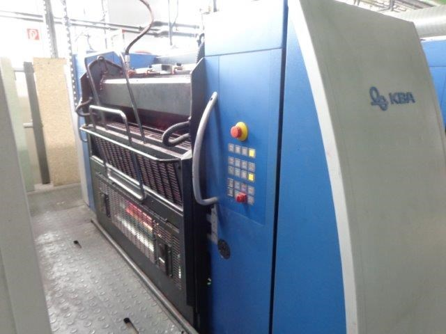 KBA Rapida 106 8 SW4+L SPC CX