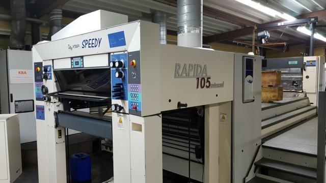 KBA Rapida 105 L CX ALV 2